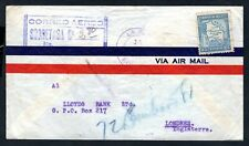 Bolivia - 1935 Airmail Cover to London