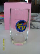 verre PERRIER FU  collection fan tres tres rare NO PAY PAL