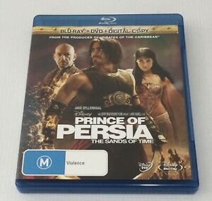 PRINCE OF PERSIA THE SANDS OF TIME BLU-RAY + DVD 3 Disc Set