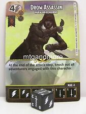 Dice Masters - #100 Drow Assassin - Paragon Humanoid - Battle for Faerun