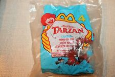 NEW 1999 MCDONALDS TARZAN TANTOR WIND UP TOY