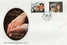 Jersey 1986 Andrew & Sarah Royal Wedding unaddressed FDC