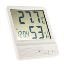 Thermometer Hygrometer Indoor Temperature Humidity Meter Weather Station Digital
