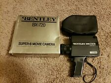 Used Bentley Super-8 Movie Camera BX-720 Manual Camera with Cover