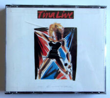 """TINA TURNER """" Live In Europe """"   2 DISC AUDIO / MUSIC CD SET WITH BOOKLET BOWIE"""