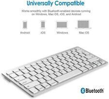 Tastiera Bluetooth Ultra Sottile Tablet Smartphone Mini PC Computer Playstation