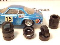 8 pneus AR urethane  Alpine Berlinette JOUEF