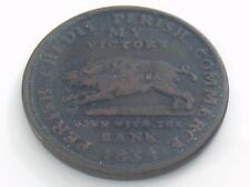1834 Perish Credit Commerce My Currency Substitute US Bank Colonial Token I350