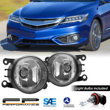 For 13-18 Acura ILX 33900-T0A-A01 Direct Replacement Fog Lights Assembly Pair