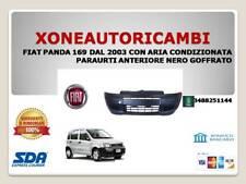 FIAT PANDA 169 DAL 2003 CON ARIA CONDIZIONATA PARAURTI ANTERIORE NERO GOFFRATO