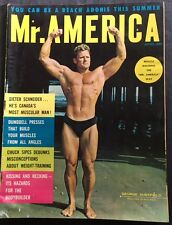 Body Building, Muscle Magazine, George Sheffield, 1962