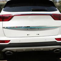 For Kia Sportage 2017- Chrome Rear Trunk Cover Tailgate Door Trim Molding Strip