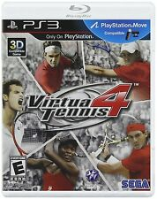 NEW Virtua Tennis 4  (Sony Playstation 3, 2011)