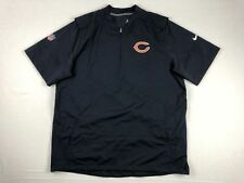 Nike Chicago Bears - Navy Blue Poly Pullover (2XL) - Used