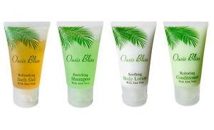 100 pc Hotel Toiletries Bulk Set: Body Wash, Shampoo, Lotion, Conditioner(25 ea)