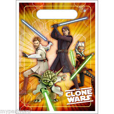 Star Wars Clone Wars Treat Sack Favor Bag Birthday Party Supplies free shipping