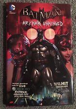 Batman Arkham Unhinged HC Graphic Novel OOP-Joker-Bane-Harley Quinn
