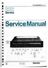 Service Manual-Anleitung für Philips 22 AH 603