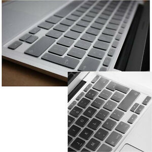 """EU Version Clear Keyboard Cover Keypad Skin For MacBook Air 11""""/ White/Pro 13 15"""