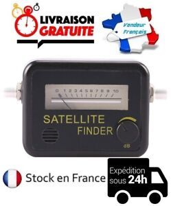 POINTEUR DE SATELLITE ORIENTATION RÉGLAGE ANALOGIQUE ANTENNE PARABOLE FINDER
