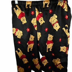 "Disney winnie the pooh sleepwear pajama pant size Medium Waist 28-36"""