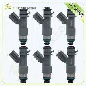 6 Fuel Injectors For Honda Accord Acura TSX TL 3.5L 16450-R70-A01