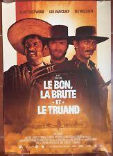 Affiche LE BON, LA BRUTE ET LE TRUAND Clint Eastwood SERGIO LEONE R40x60cm *