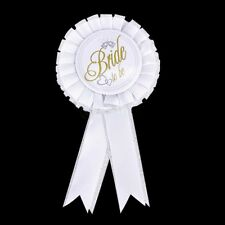 Top Bride To Be Badge Rosette Hen Night Bachelorette Party Accessory