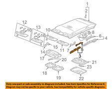 HONDA OEM 03-04 Accord Interior-Roof-Front Insulator Left 83253SDAA01