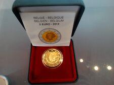 2 Euro BELGIEN 2012 : 75 Jahre Königin Elisabeth Musikwettbewerb Prooflike
