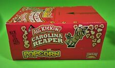 ASS KICKIN' CAROLINA REAPER POPCORN,12 PACK CASE, 3.5 OZ. BAGS,POPULAR NEW ITEM!