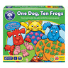 One Dog, Ten Frogs Game by Orchard Toys 3+