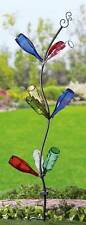 """Solar-Powered Tree  00004000 for Your Bottles Metal Garden Stake 72""""H w/9 Lighted Branches"""
