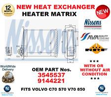 für 3545537 9144221 Wärmetauscher Heizungs Matrix passend für Volvo C70 S70 V70