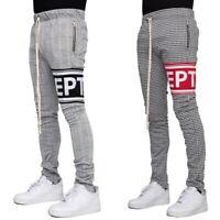 EPTM Men's Techno Side Zipper Long Drawstring EPTM LOGO Track Pants