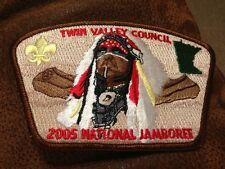 MINT 2005 JSP Twin Valley Council Brown Border