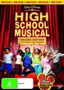 High School Musical (DVD, 2006) Zac Efron, Vanessa Anne Hudgens New & Sealed R4