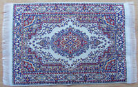 1:12 Scale 25cm x 14.5cm Woven Turkish Rug Dolls House Miniature Carpet P12m