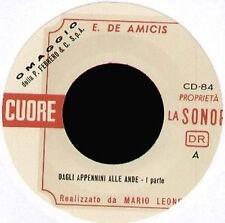 EDMONDO DE AMICIS - CUORE (Dagli appennini alle ande) - LA SONOR