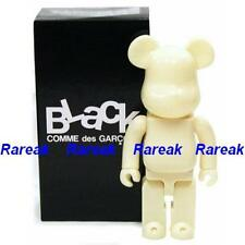 Medicom 2009 Be@rbrick Comme des Garcons 7th CDG 400% BLK Glow in Dark Bearbrick