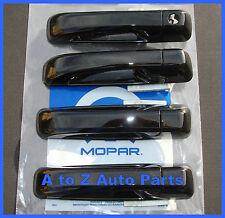 NEW 2012-2015 Dodge RAM EXPRESS QUAD or CREW CAB Black Door Handles,OEM Mopar