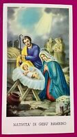 SANTINO HOLY CARD, NATIVITÀ DI GESÙ BAMBINO -RIF. 6701