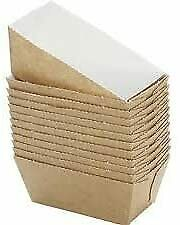 Disposable Paper Moulds Mini Loaf Card Bake Freezer Stable Bread Cake 50 Pcs New