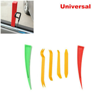 6PCS Car Truck Door Panel Paint Window Enlarger Wedge Dent Repair Auxiliary Tool