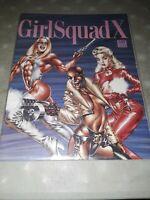 Girl Squad X Roland Brown Trade NM Magazine Fantaco Girlsquad X Penthouse Comic
