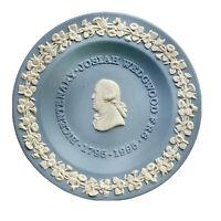 "Wedgwood Jasperware Blue Plate Bicentenary Josiah Wedgwood 1795-1995 4 1/2"""