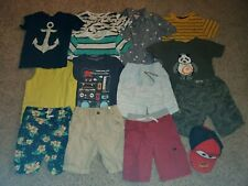 Lot Of 14 Boy's Summer Clothes Size 6