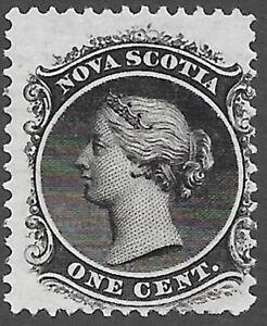 Nova Scotia Scott Number 8a Queen Victoria F NG Cat $7.50