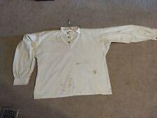 Civil War Soldier Cotton Men's Shirt, Handmade, wooden buttons