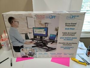Seville Air-Lift Pro Pneumatic Desk Riser Sit Or Stand NEW NIB B1-C4